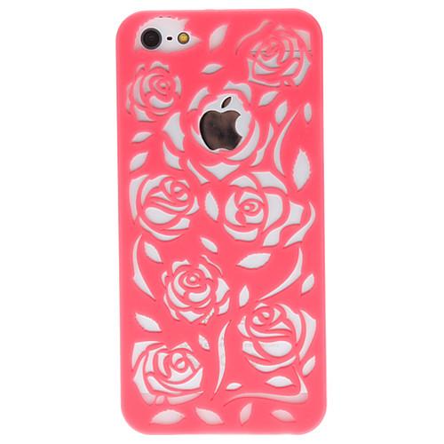 Резной чехол с розами для iPhone 5 (разные цвета) Lightinthebox 128.000