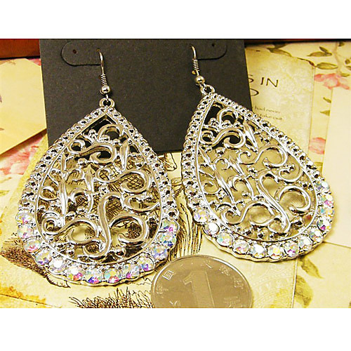 Женщины Vintage серьги с бриллиантами Lightinthebox 257.000