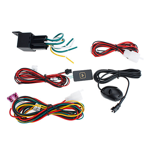 Портативный мини-автомобиля Автомобильный GPS Tracker реальном времени, GSM и GPS антенны SOS Alarm Lightinthebox 2320.000