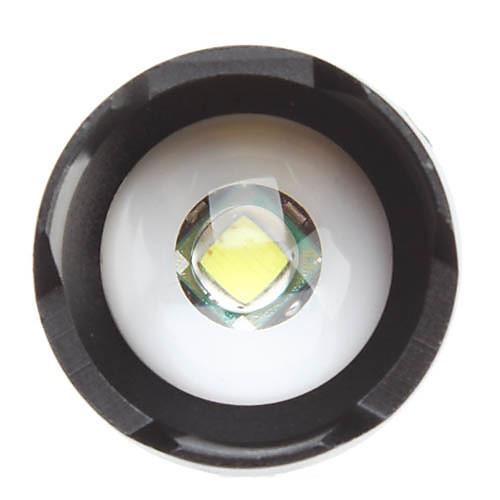 UltraFire SK68 3-режимный фонарь с лампой  Cree XM-L T6 LED (1000LM, 1x18650). Зарядное устройство и аккумуляторная батарейка в комплекте