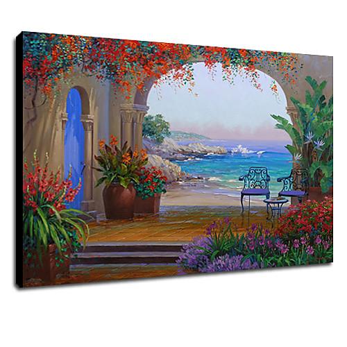 Картина маслом, ручной работы, ландшафт Lightinthebox 2577.000