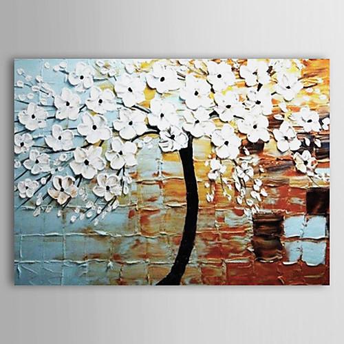ручная роспись цветочного картина маслом с растянутыми кадр 20
