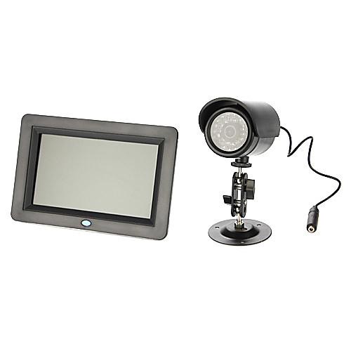 7-дюймовый ЖК-экран монитор младенца с записью (Surpport Макс 32G SD Card не включая) Lightinthebox 5156.000