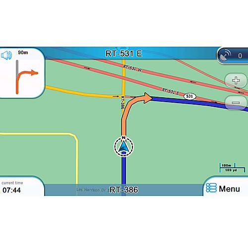 престижность GPS карта карта, с 4 Гб стандарта SD Card
