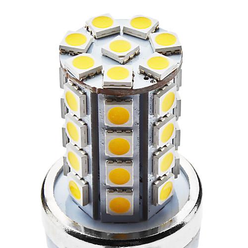 E27 7W 36x5050 SMD 560-590LM 3000-3500K теплый белый свет Светодиодная лампа кукурузы (85-265В) Lightinthebox 298.000