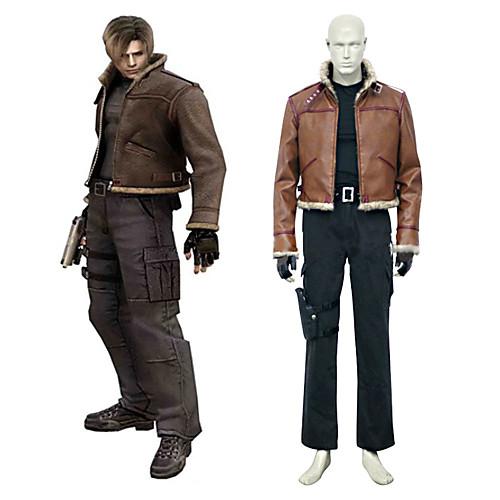 косплей костюм вдохновлен Resident Evil 4 Леон с. Кеннеди Lightinthebox 5156.000