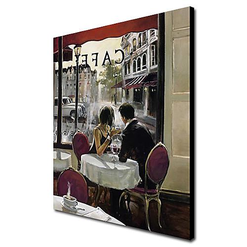 Ручная роспись Люди Картина маслом портрет Lightinthebox 2706.000