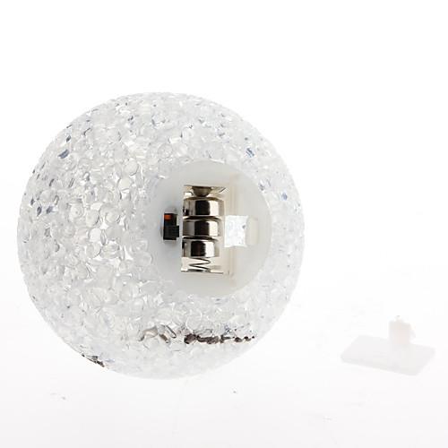 Улыбающийся ночной светильник из кристаллов (горит разными цветами) Lightinthebox 171.000