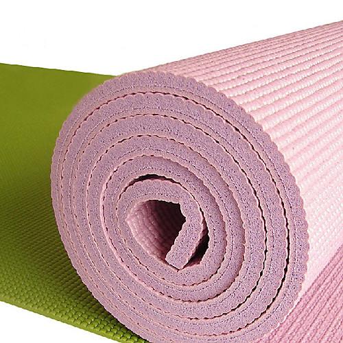 Экстра плотный, нескользящий, экологичный коврик для йоги и пилатеcа, 183 см, толщина 10 мм, цвета в ассортименте Lightinthebox 1933.000