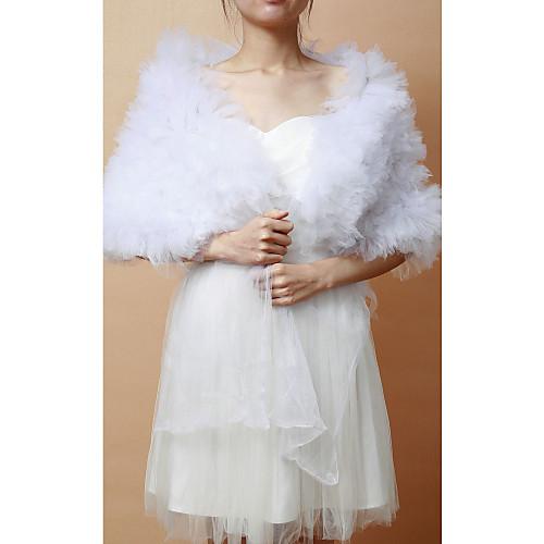 Замечательный Тюль Свадьба / Вечерние шаль Lightinthebox 901.000