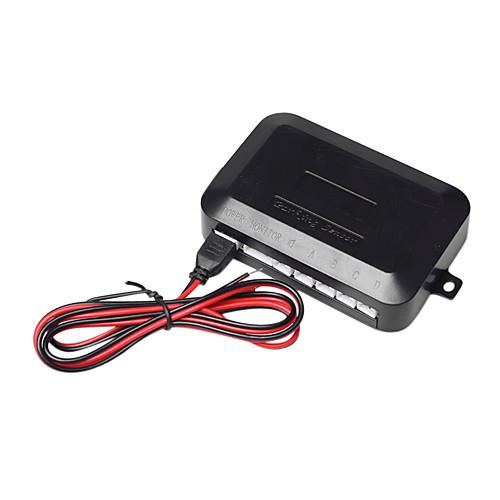 Парковочная система с 4 Radar  блок управления  LED Display, Черный Lightinthebox 858.000