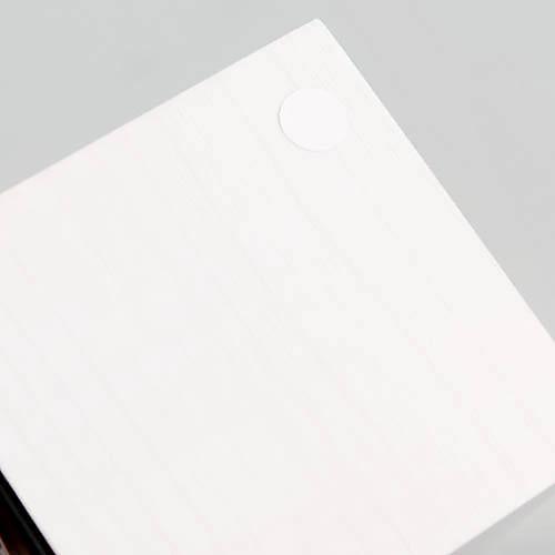 Белый деревянный дизайн белый свет Desktop Mini кубических Будильник Календарь Термометр (USB) Lightinthebox 992.000