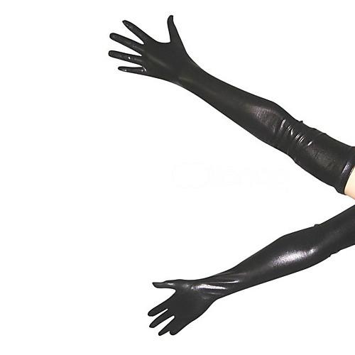 Черный блестящий металлик перчатки (2 шт) Lightinthebox 429.000
