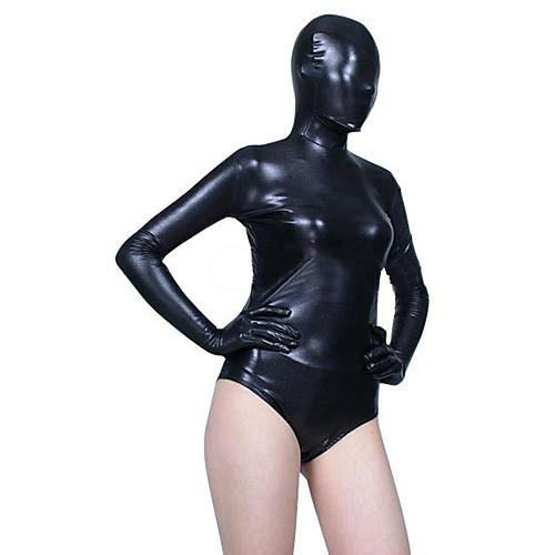 Черный блестящих металлических Купальник Spandex Зентаи костюм Half Lightinthebox 1030.000