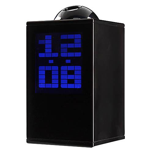 Настольные цифровые часы/будильник/календарь/термометр с проектором (разные цвета, 3хAAA) Lightinthebox 773.000