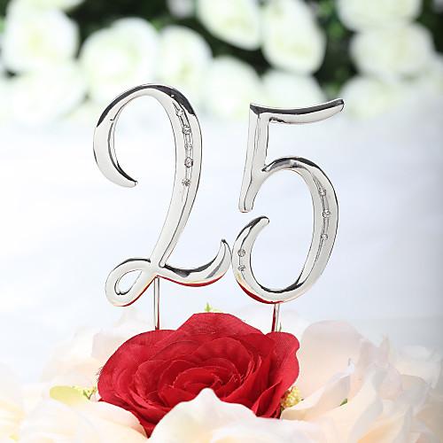 чудесный горный хрусталь число торт Топпер Lightinthebox 215.000
