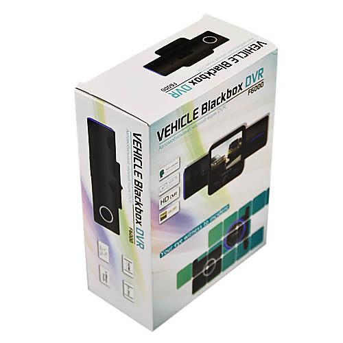 2 дюйма двойной камеры 120 градусов широкий угол обзора Автомобильный видеорегистратор со встроенным микрофоном Lightinthebox 3437.000