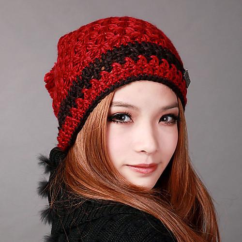 Денисовича-1208 Женская мода Зимняя Knit Hat Lightinthebox 901.000