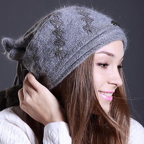 Денисовича-1164 Женская Зимняя мода шерсти Hat Lightinthebox 1073.000