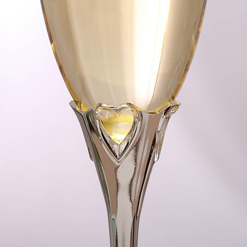 Свадебные именные бокалы для шампанского (2 шт. в наборе) Lightinthebox 1718.000