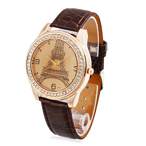 Кожа женские кварцевые стекла круглой формы платье Watch (другие цвета) Lightinthebox 251.000