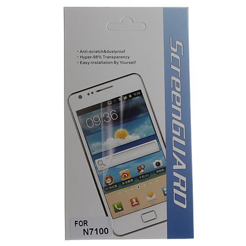 Защитные Ясный протектор экрана с Ткань для очистки для Samsung Galaxy Примечание 2 N7100 Lightinthebox 171.000