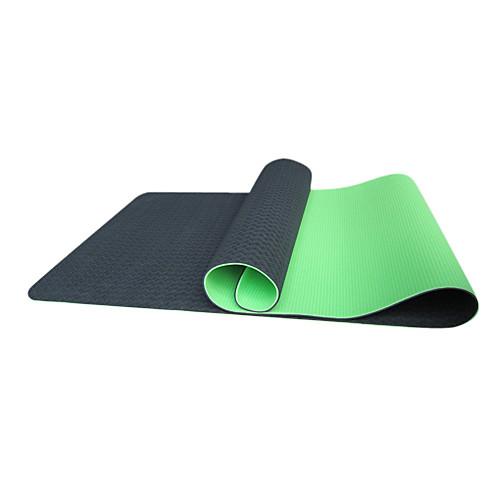 Однотонный коврик для йоги из термоэластопласта, размер 183610.6 см, цвета в ассортименте Lightinthebox 1933.000