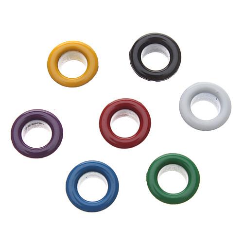 8мм круглый красочные Люверсы металла заклепки (содержат 100 фото) Lightinthebox 128.000