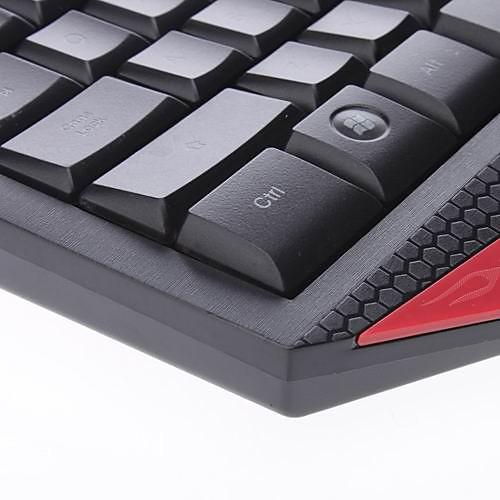 Genius K3 Эргономичный противоскольжения USB 2.0 QWERTY-Gaming Keyboard с мультимедийным ключ Lightinthebox 687.000
