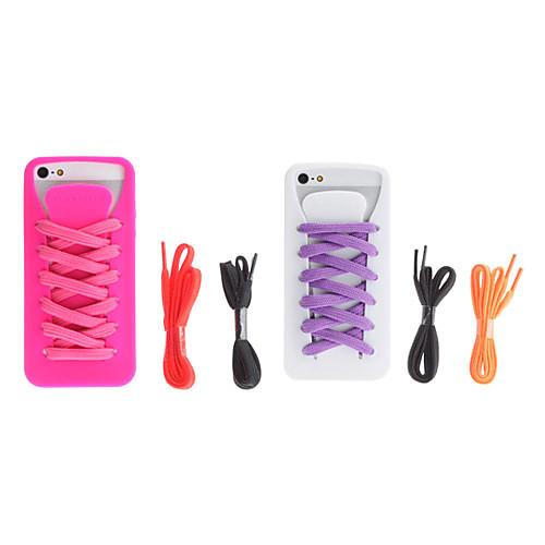 Мягкий чехол со шнурками для iPhone 5 (разные цвета) Lightinthebox 386.000