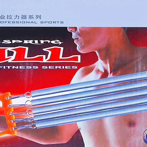 Пластиковая ручка 5 Springs Съемная груди Expander тянуть мышцы сборки Носилки (Random Color) Lightinthebox 558.000