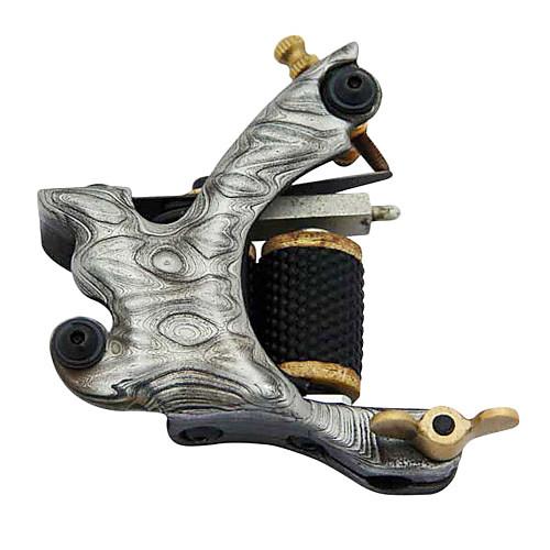 Damascus Steel 10-обертывания катушки татуировки Machine Gun Shader Lightinthebox 1718.000