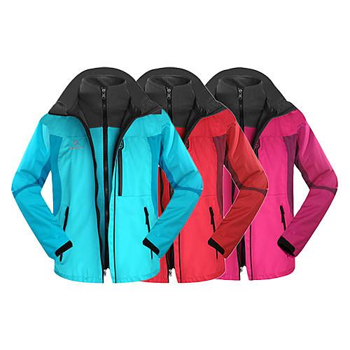 INBIKE 3-в-1 женщин, ездящих на велосипеде теплая куртка полиэстер  флис от ветра (2 шт) i0211 синий, красный, Fushia Lightinthebox 2577.000