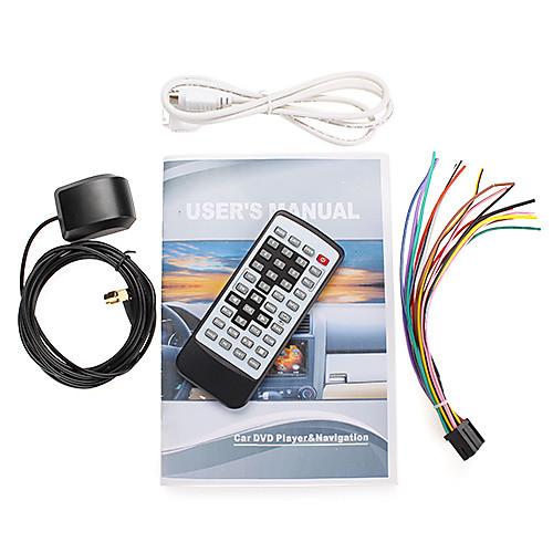 7-дюймовый 2DIN автомобильный DVD-плеер (GPS, DVB-T, Bluetooth, RDS, ставку) Lightinthebox 10011.000
