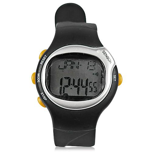 Черный Открытый часы с Heart Rate Monitor, Будильник, Секундомер Функция Lightinthebox 816.000