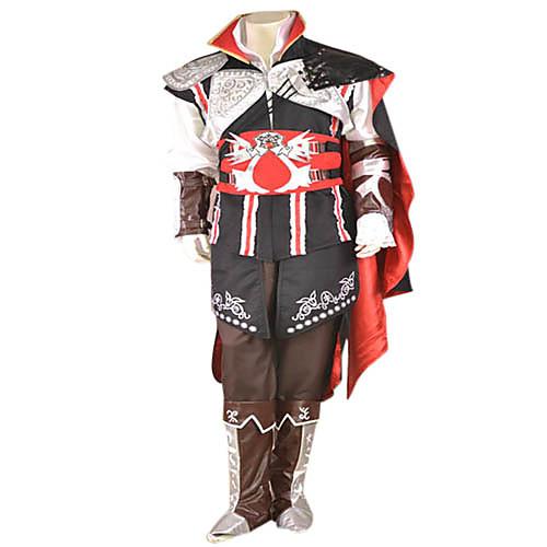 Эцио Black Edition черного косплей костюм Lightinthebox 6015.000