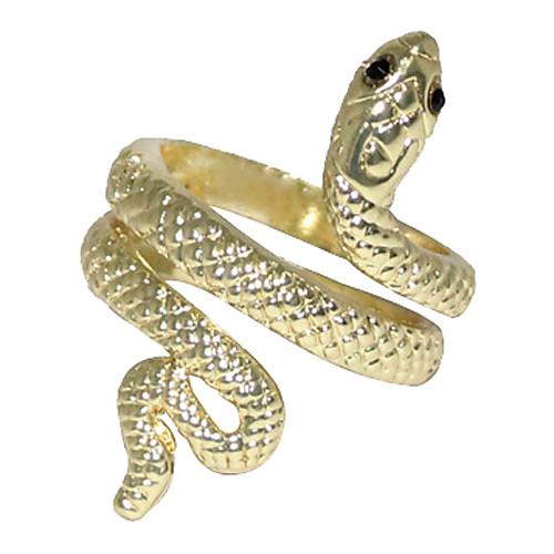 Свернутая змея кольцо сплава (Золотой) Lightinthebox 128.000