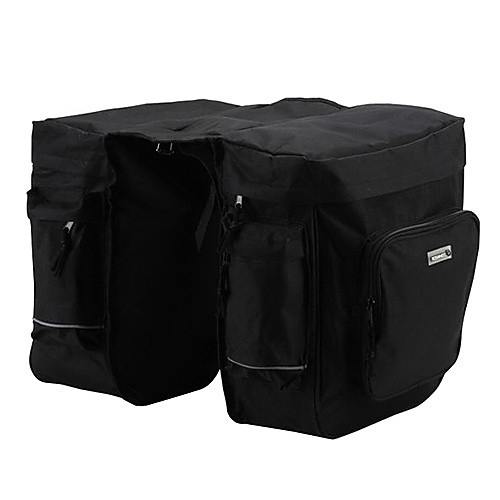 600D / PVC водонепроницаемый 37L Double Pack перевозки Side (черный) Lightinthebox 1718.000