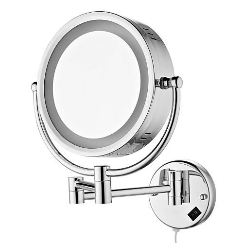 8,5-дюймовый дисплей со светодиодной хромированная отделка настенное крепление Зеркало Lightinthebox 4296.000