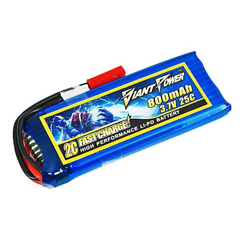 800mAh 25C Lipo 3.7V/1S аккумулятор для модели RC Lightinthebox 429.000