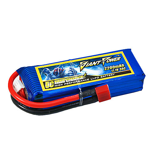 2200mAh 11.1V/3S 50C Lipo аккумулятор для модели RC Lightinthebox 1718.000