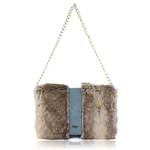 Очаровательная искусственного меха кролика Вечер сумки / муфты Lightinthebox 1503.000