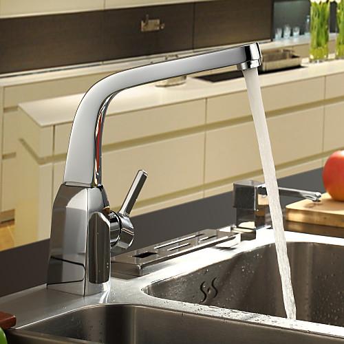 Sprinkle от LightInTheBox - хромированная отделка Centerset одной ручкой латунь кухонный кран Lightinthebox 2577.000