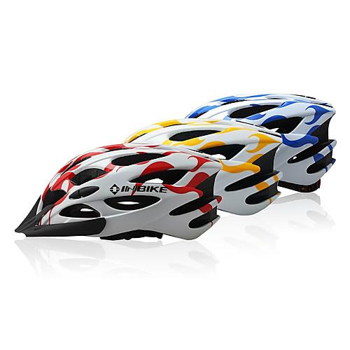 INBIKE серии Новый стильный материал EPS Велоспорт Шлем с 28 вентиляционных отверстий и съемный козырек Lightinthebox 858.000