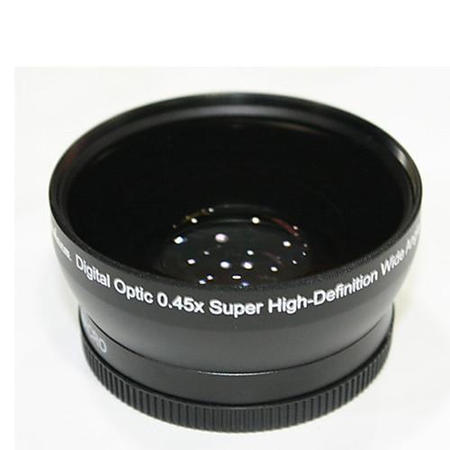 профессиональный 58mm 0.45x супер широкий угол  макро конвертор для цифровых камер Lightinthebox 858.000