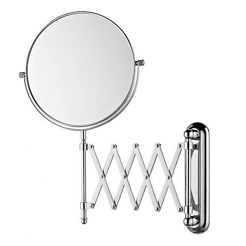 Круглая 8-дюймовый выдвижной настенные Зеркало хромированная отделка Lightinthebox 2148.000