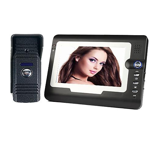 Вилла типа 7-дюймовый цветной видеодомофон дверной звонок системы Lightinthebox 3265.000