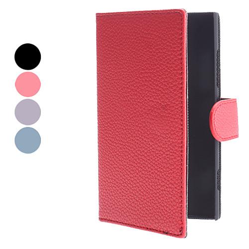 PU кожаный чехол с подставкой и слот для карт Nokia Lumia 920 (разных цветов) Lightinthebox 321.000