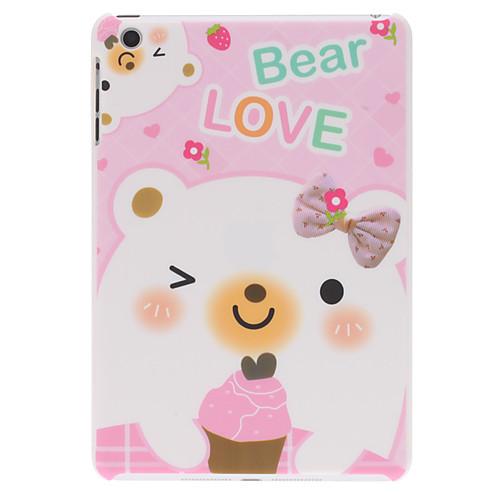 прекрасный дизайн медведь жесткий футляр для Ipad Mini 3, Ipad Mini 2, Ipad мини
