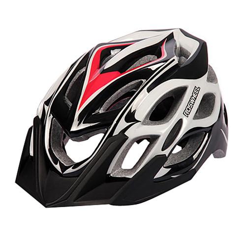 Удобный  Безопасность EPS  PC Велосипедная каска с 24 вентиляционные отверстия и светодиодные 91418 Lightinthebox 1718.000